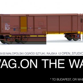 Action # 10 // Wag.on the way / to Budapest or wherever...