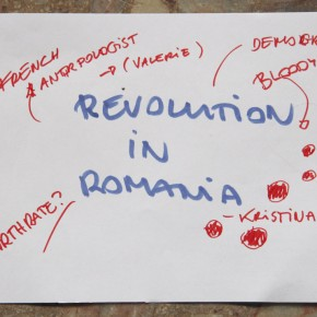 Revolution in Romania - Cristina