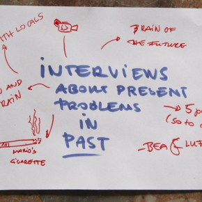 Interview about present problems in past - Bea and Luzja