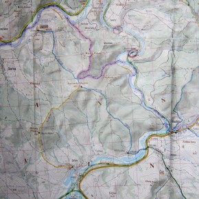 Map - Plaveč <> Muszyna - Photo Julie Chovin