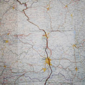 Map - Photo Julie Chovin