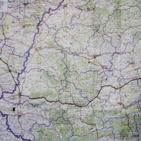 Map (Romania) - Photo Julie Chovin